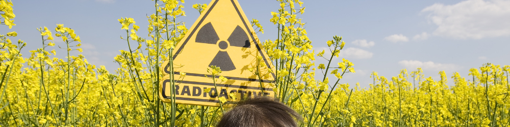 Environmental Analysis - Radioactive measurements - Radioactive Symbol - Child